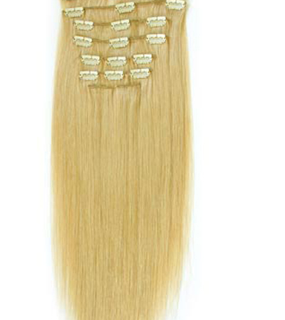 Om Clip-On Hair Extensions